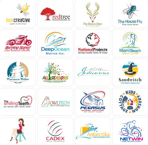 design firm names logo design