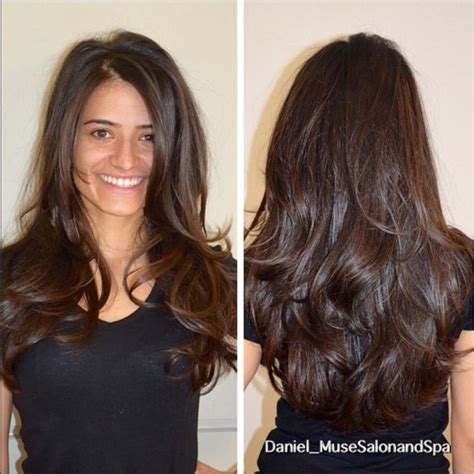images of long layered hair 25 best ideas about brunette long layers on pinterest