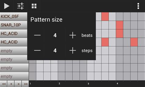 android pattern generator download groovemixer music beat maker for android