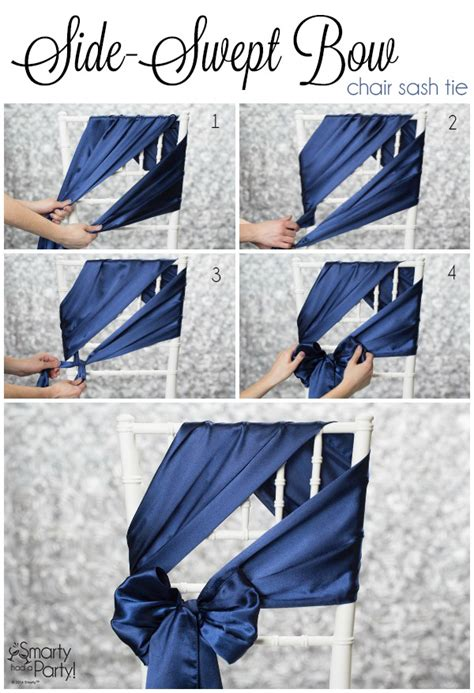 How To Tie A Person To A Chair by Chair Bows On Wedding Chair Sashes Wedding