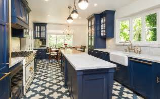 Blue Cabinets In Kitchen 23 Gorgeous Blue Kitchen Cabinet Ideas