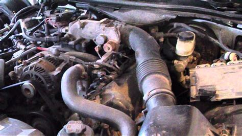 ford crown victoria clean interior engine  transmission fluid youtube