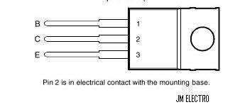 cara mengukur transistor tip 41 jm electro transistor tip 41 tip41a tip41b tip41c