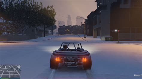mod game gta pc gta 5 pc new mod adds snow to gta online vg247