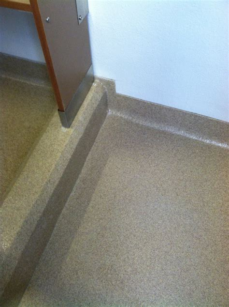 restroom flooring 101 epoxy beats ceramic tile hands down for durability and maintaining