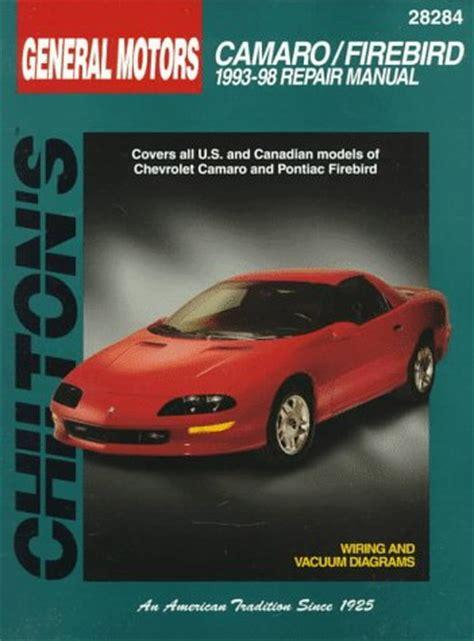 repair manual chilton 28602 fits 82 92 pontiac firebird ebay la librairie