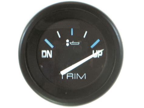 mercury quicksilver   power trim gauge