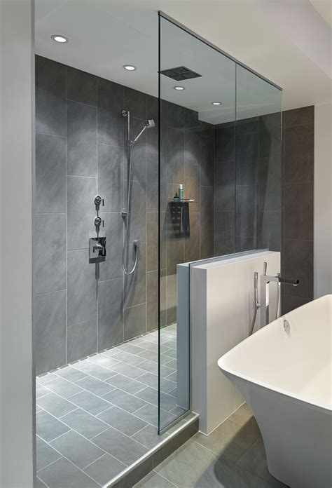 large bathroom ideas grey slate tile shower www pixshark images