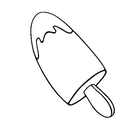 imágenes para dibujar helados dibujo de helado cremoso para colorear dibujos net