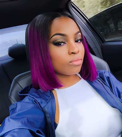 purple hairstyles for black women 80 cool short haircuts for black women best in 2016