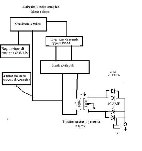 schema elettrico alimentatore switching energia alternativa laboratory alimentatore variabile