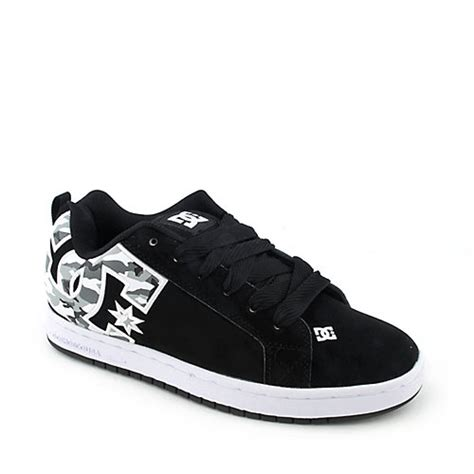 Dc Court Graffik Se Skate Shoe Mens Black 100 Dc Shoes Court Graffik Se Mens Athletic Skate Sneaker