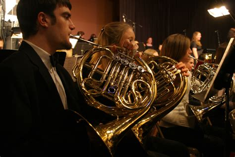 french horn section a union christmas photo album the union photo project