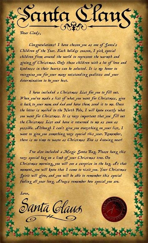 letter to santa template canada post best letters from santa letter template
