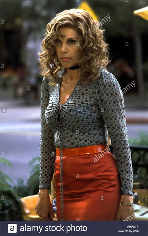 Christine Baranski Christine Baranski Bowfinger 1999 Stock Photo 96994811