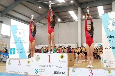 club ximnasia pavillon ximnasia pavill 243 n y burgas brillan en la copa galicia de