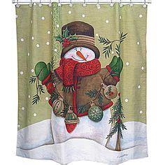 snowman shower curtain set snowman shower curtain set google search