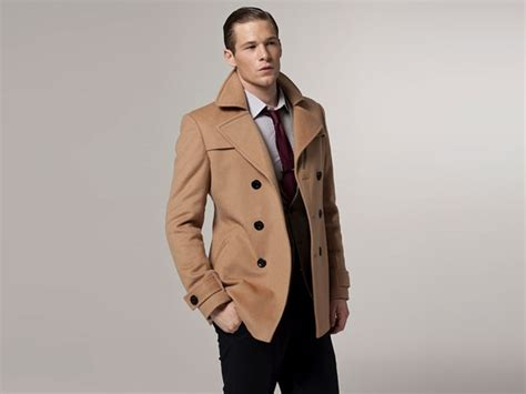 camel colored peacoat i want to buy ethan an overcoat he d look in one