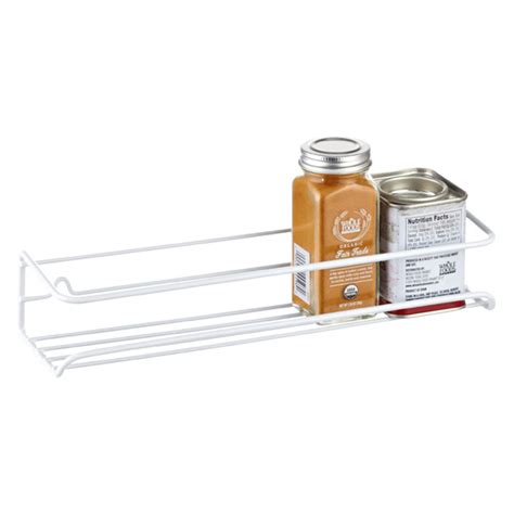 Wire Spice Shelf Single Wire Spice Rack The Container Store