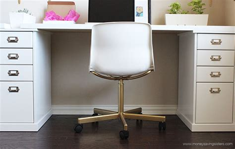 Expensive Office Chair Brands ikea hack make the 20 snille chair look like an expensive office chair money saving