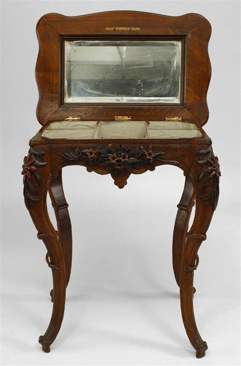 Flip Top Changing Table Small 19th Century Walnut Flip Top Dressing Table For Sale At 1stdibs