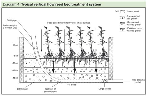 reed section how to deal with sewage for a self build home
