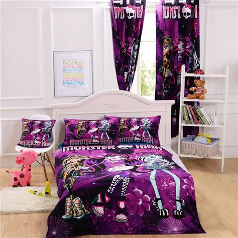 monster high bed set monster high bed cover monster high bedding set for kids