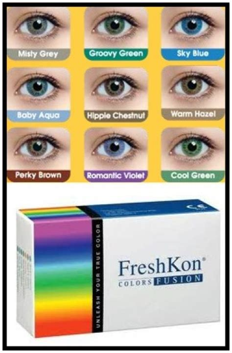 Shop Eye Colour Fusion by Acl Freshkon Colors Fusion 2 Pack