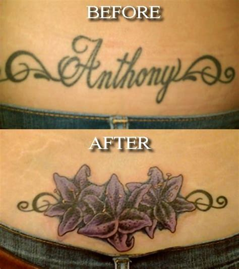 tattoo designs cover up names 55 cover up tattoos impressive before after photos