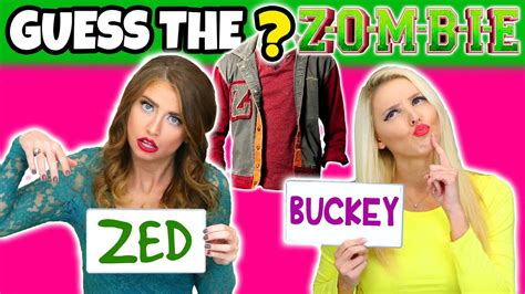 zombie film quiz guess the disney zombies character s clothes totally tv