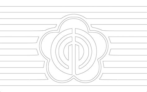 taiwan flag free colouring pages