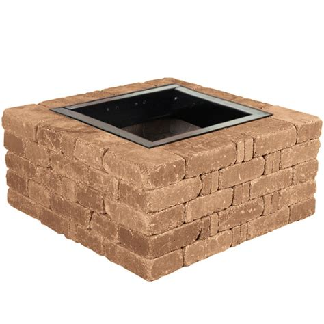 Pavestone Rumblestone 46 In X 10 5 In Round Concrete Pit Kit