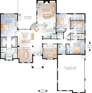 5 Bedroom House Plans 1 Story 4 Bedroom One Story House Plans 1 Story 4 Bedroom House