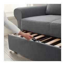 Two Seater Sofa Bed Ikea Backabro Two Seat Sofa Bed Nordvalla Grey Ikea