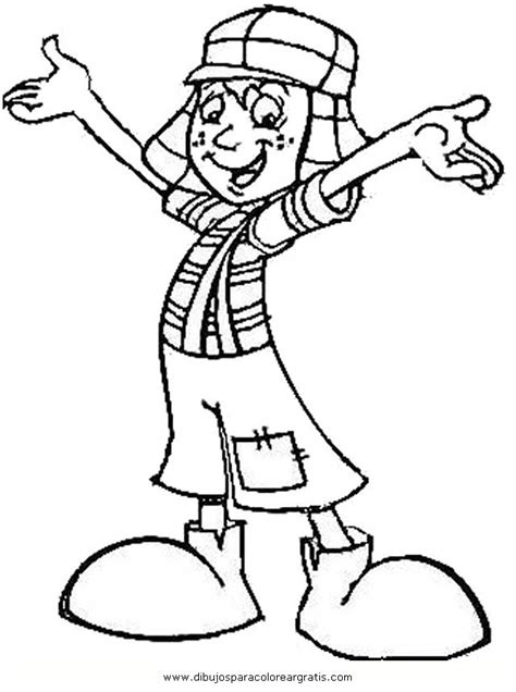 free coloring pages of el chavo del ocho