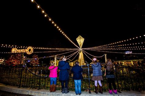 historic franklin square lights up for the season