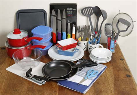 Student Kitchen Essentials Pack by Student Essentials Packs For College Uk