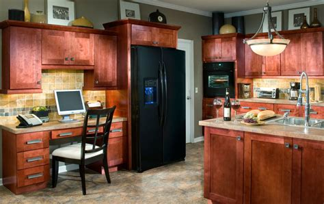 Allwood Kitchen Cabinets by Assembled Kitchen Cabinets Kenyon Cabernet
