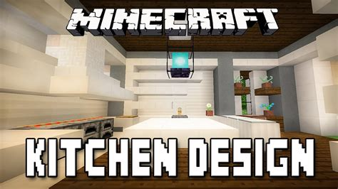 minecraft interior design kitchen minecraft tutorial modern kitchen design how to build a