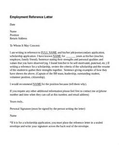 Reference Letter From Employment For Visa Sle Recommendation Letter For Visa Application From Employer 100 Images Work Visa Z Visa