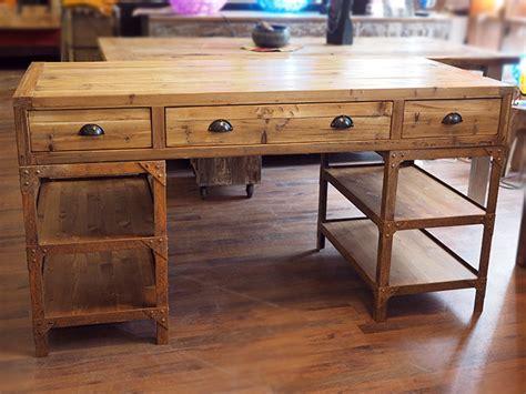 scrivania vintage scrivania industrial vintage ferro legno nuovimondi