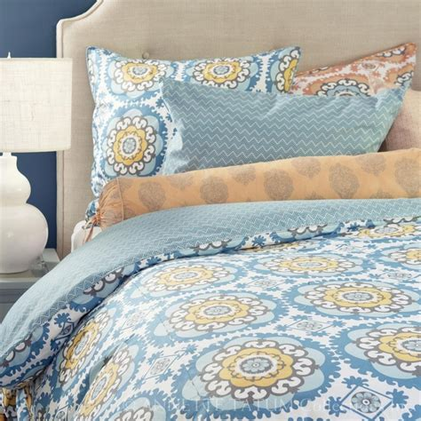 orange and blue bedding blue orange bedding dream home pinterest