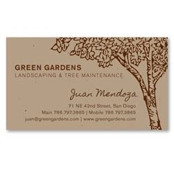 Plantable Business Cards