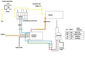 ford power antenna wiring diagram