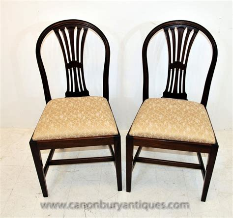 10 dining chairs set 10 mahogany dining chairs diners furniture
