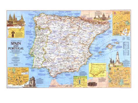 spain and portugal classic laminated national geographic reference map books alle bedrijven maps 4 pagina 22
