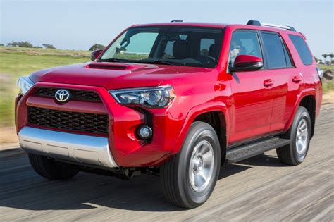 suv toyota 4runner 2016 toyota 4runner suv pricing for sale edmunds