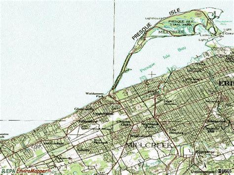 zip code map erie county pa erie zip code map zip code map