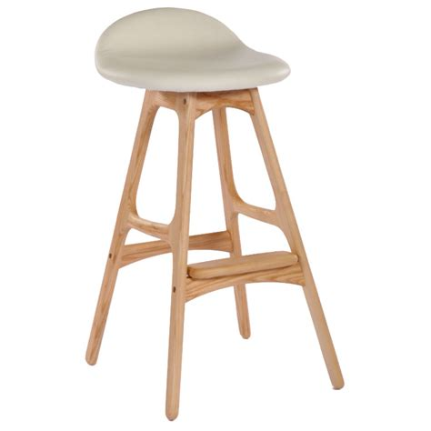 Ash Colored Stool by Tangent Modern Ash Wood Counter Stool Eurway