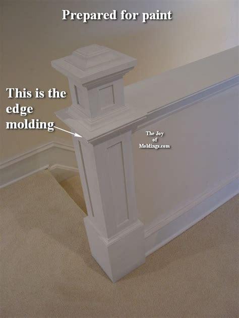build newel post  part   joy  moldings